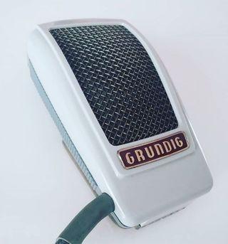 Micrófono vintage Grundig GDM15