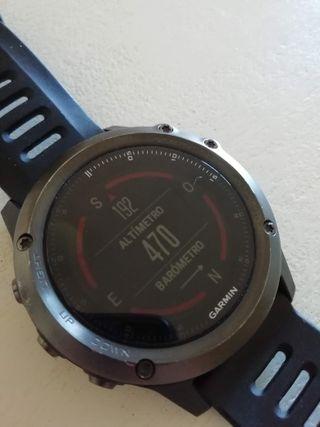 Reloj GPS Garmin Fenix 3 Sapphire edition (Zafiro)