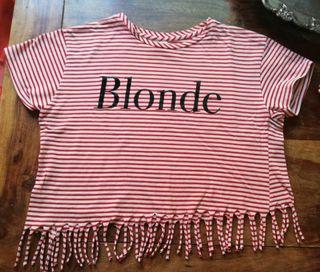Camiseta niña. Talla 11-12. De Zara.