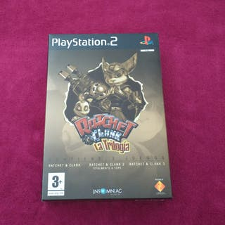 PS2 Ratchet and Clank. La trilogía.