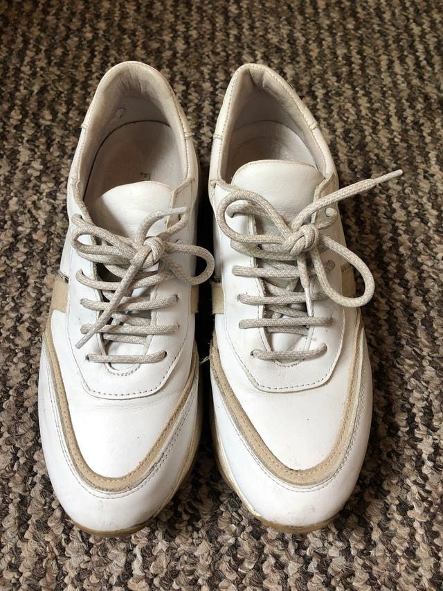 White sneakers, brand Feners