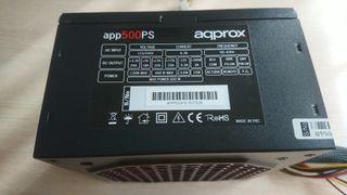 Fuente de alimentación aqprox app500PS