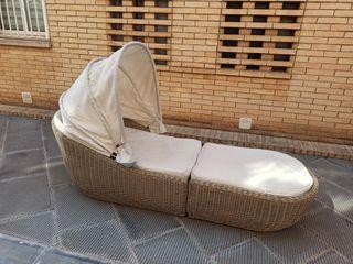 """Chease longue """"cheslong"""" para jardín o terraza"""