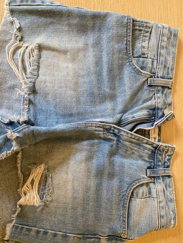 Pantalones vaqueros denim cortos
