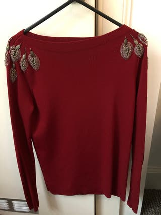 ZARA red t-shirt