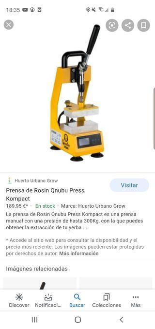 prensa rosin