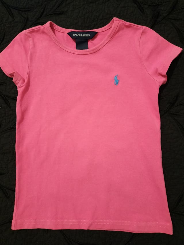 camiseta Ralph Lauren niña