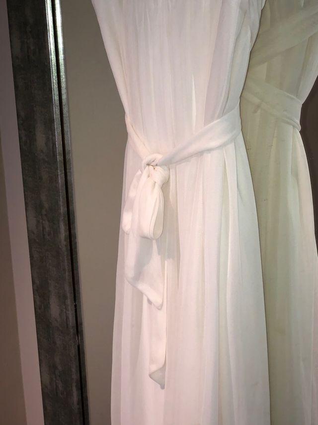 Vestido blanco estilo griego