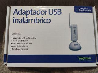 Adaptador USB inalámbrico