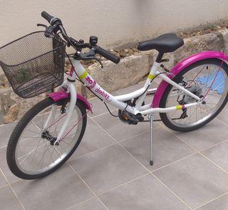 """bicicleta de niña 20"""""""