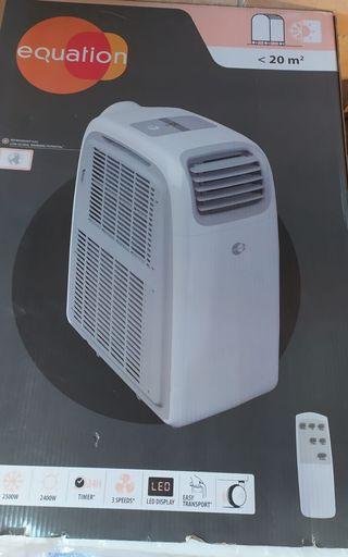 aire acondicionado portátil. frío - calor