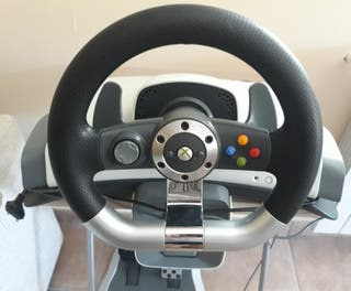 Volante + Pedales oficial Xbox 360