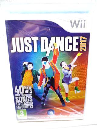Just Dance 2017 para Wii Precintado.