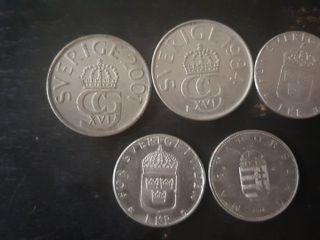 monedas de Suecia