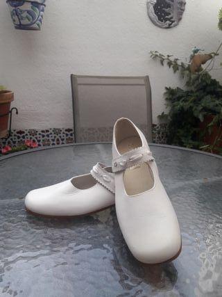 Zapatos comunión niña talla 37