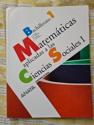 libro de Matemáticas, Bachiller 1