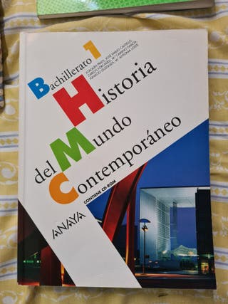 libro de Historia del Mundo Contemporáneo