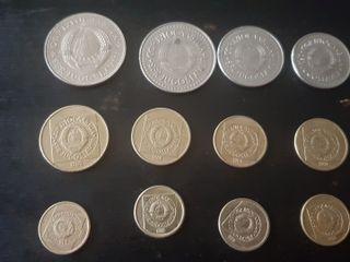 monedas de Yugoslavia