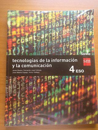 libro de Informática 4 eso