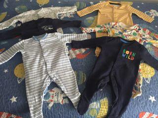 Pijamas bebé 0-3 meses T62