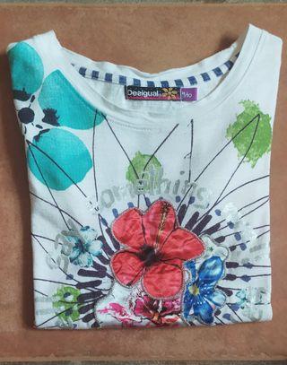Camiseta Desigual para niña de 9/10años