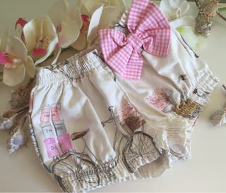 **Pantaloncito niña en algodón LA BUENA JUANITA t3