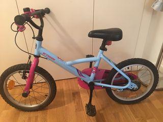 Bicicleta niña/o 4-7 años