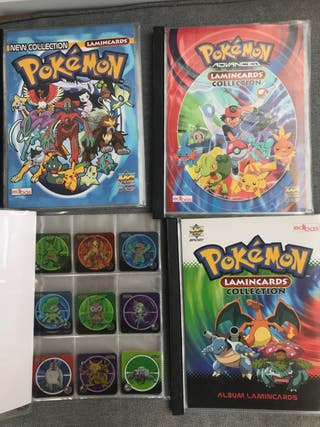 Colecciones de cromos de pokemon completas