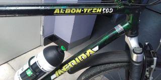 Bicicleta Mérida con cuadro de aluminio
