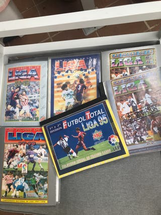 Coleccion álbumes de cromo la liga