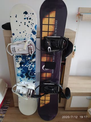 tablas snowboard