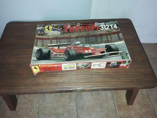Maqueta Ferrari 312 T4.
