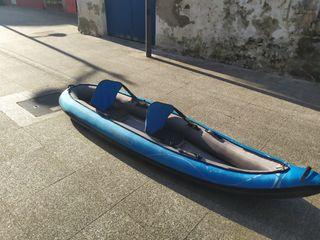 Kayak hinchable doble decathlon
