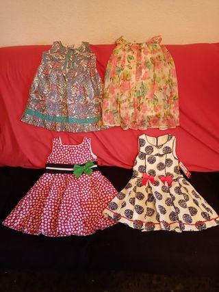 Vestidos Niña Fiesta (T. 3-4)