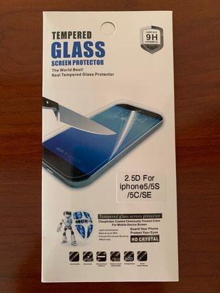 Cristal Templado iphone 5/5S/5C/SE