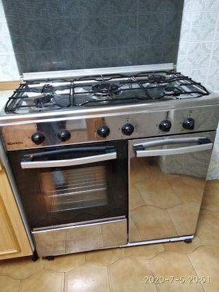 Cocina hornilla de gas
