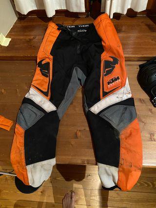 Pantalon motocross Thor KTM