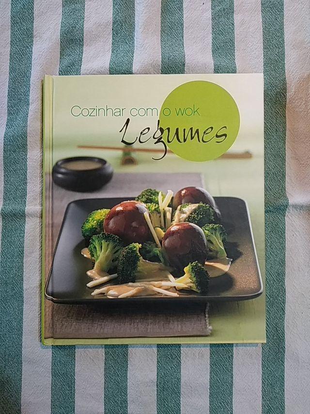 Cozinhar com o wok: legumes