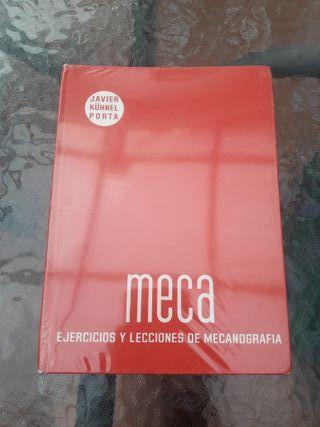 Libro de mecanografía