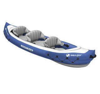 Kayak, Canoa, piragua hinchable para 3 personas