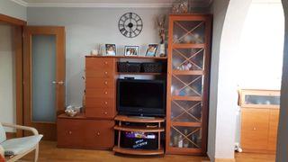 Mueble comedor TV y vitrina