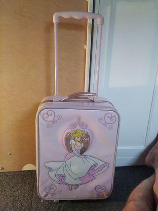 maleta de viaje para niña Disney store