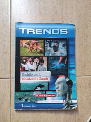 Libro de Inglés, Trends, 1° Bachillerato
