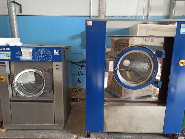 Lote lavadoras y secadoras industriales