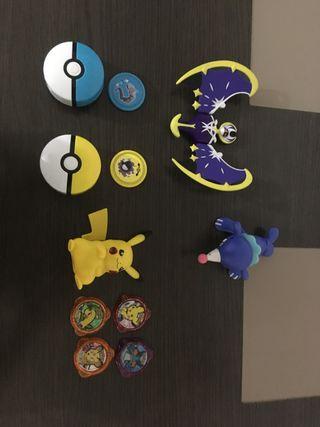 Colección de muñecos Pokémon