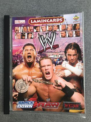 Colección de cromos WWE PRESSING CATCH