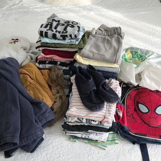 Lote ropa variada de niño 2 a 4 años