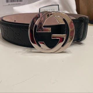 Cinturón gucci original interlocking
