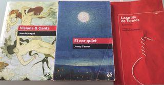 Libros lectura 6€ c/u
