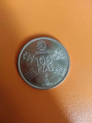 Moneda 100pesetas Juan Carlos I